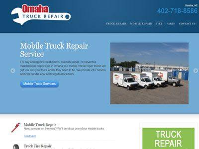 Truck Repair Microsite