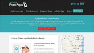 Phone Repair Website