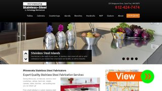 Stainless Steel Website